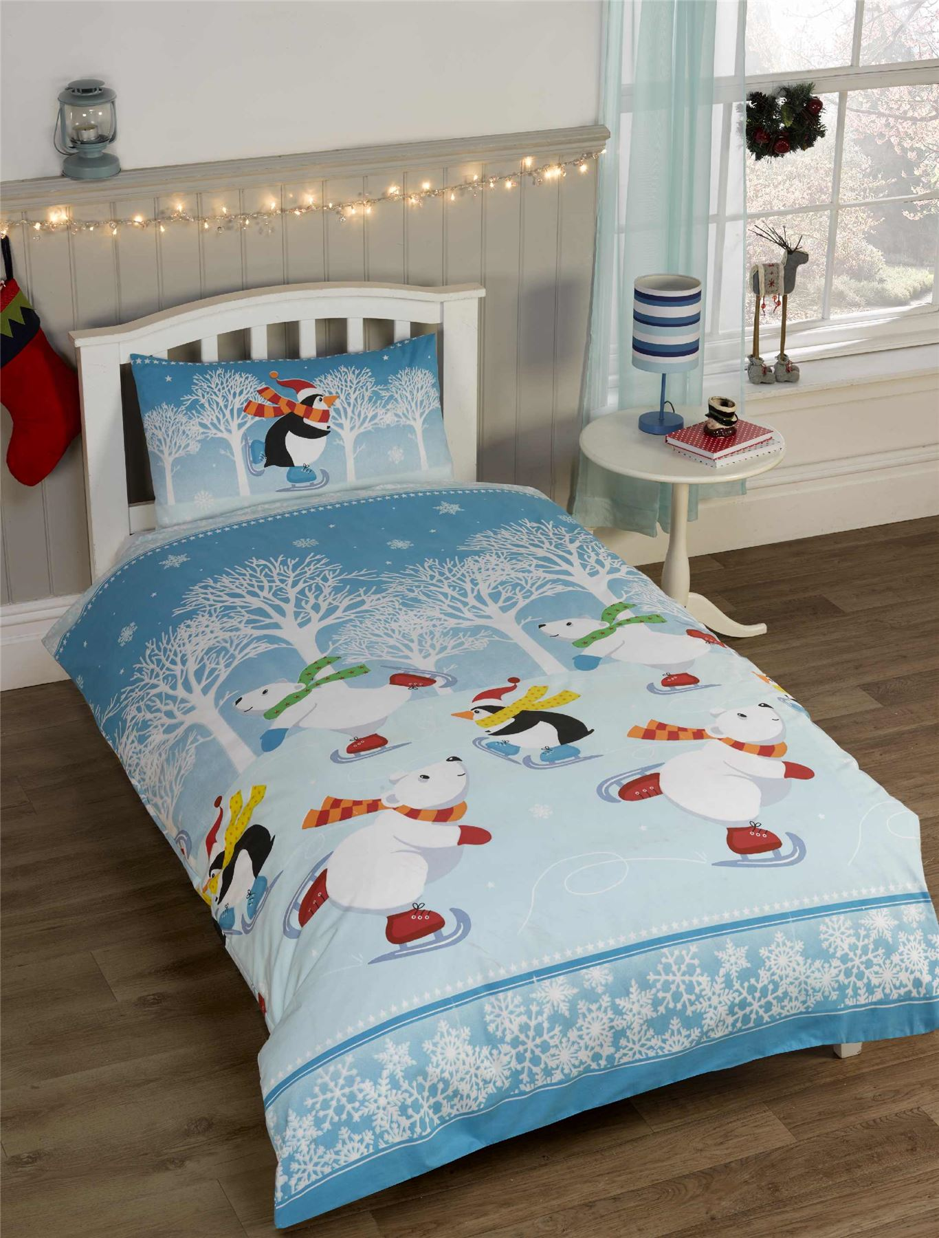 High quality Christmas inspired Duvet Covers by independent artists and designers from around the world. Some call it a duvet. Some call it a doona. Either way, it's too nice for that friend who always crashes at your place. All orders are custom made and most ship worldwide within 24 hours.