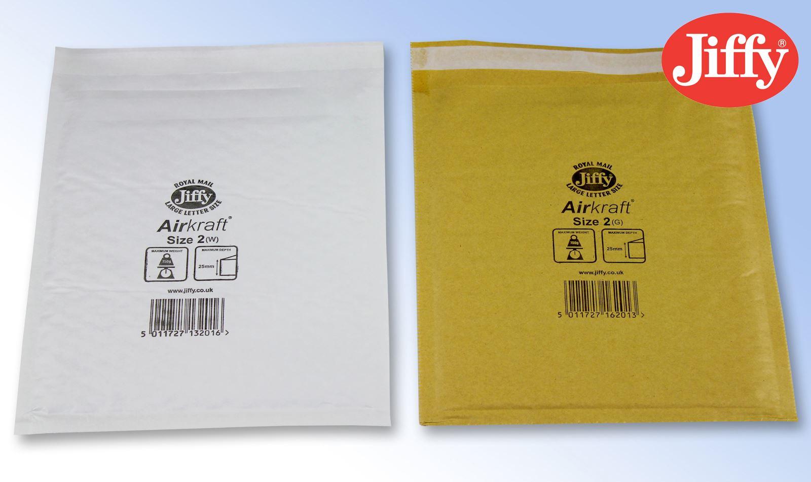 Genuine-Jiffy-Airkraft-Bags-White-Gold-Padded-Envelopes-All-Sizes