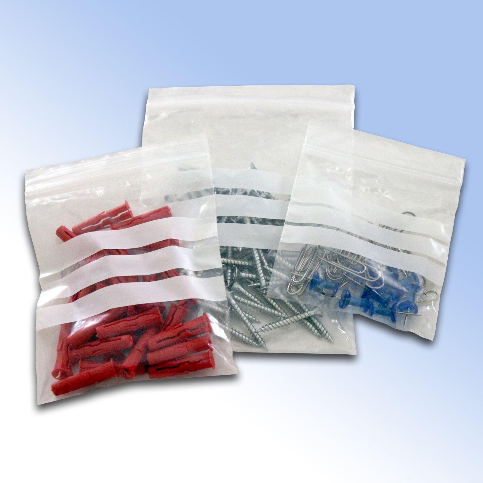 Plain-amp-Write-On-Grip-Seal-Bags-Self-Seal-Resealable-Zip-Lock-Bags-All-Sizes