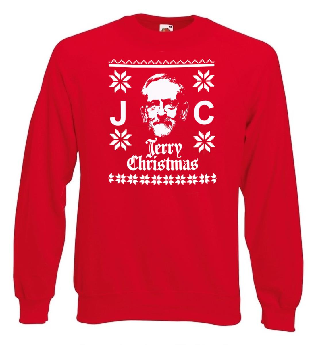 Have a Very Corbyn Christmas SWEATSHIRT JH030 Funny Labour Brexit Jumper