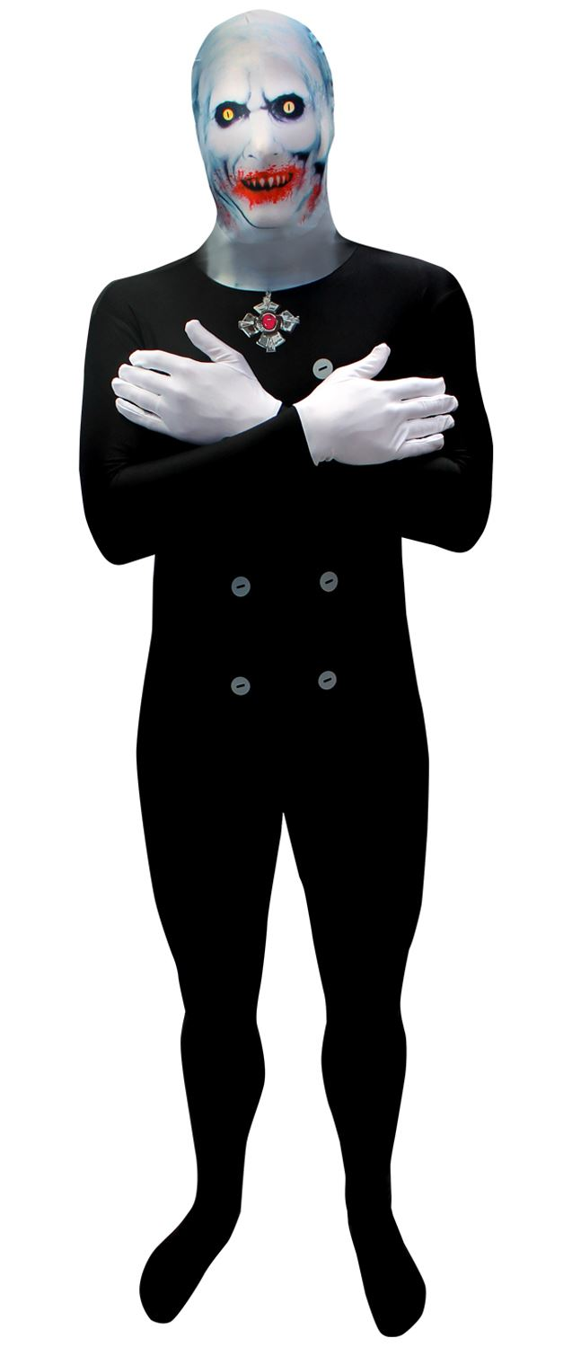 adults scary dracula vampire lord morphsuit halloween fancy