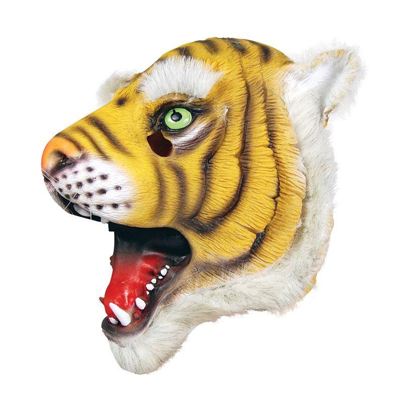 Full-Head-Rubber-Latex-Animal-Zoo-Masks-Safari-Fancy-Dress-Costume-Group-Party