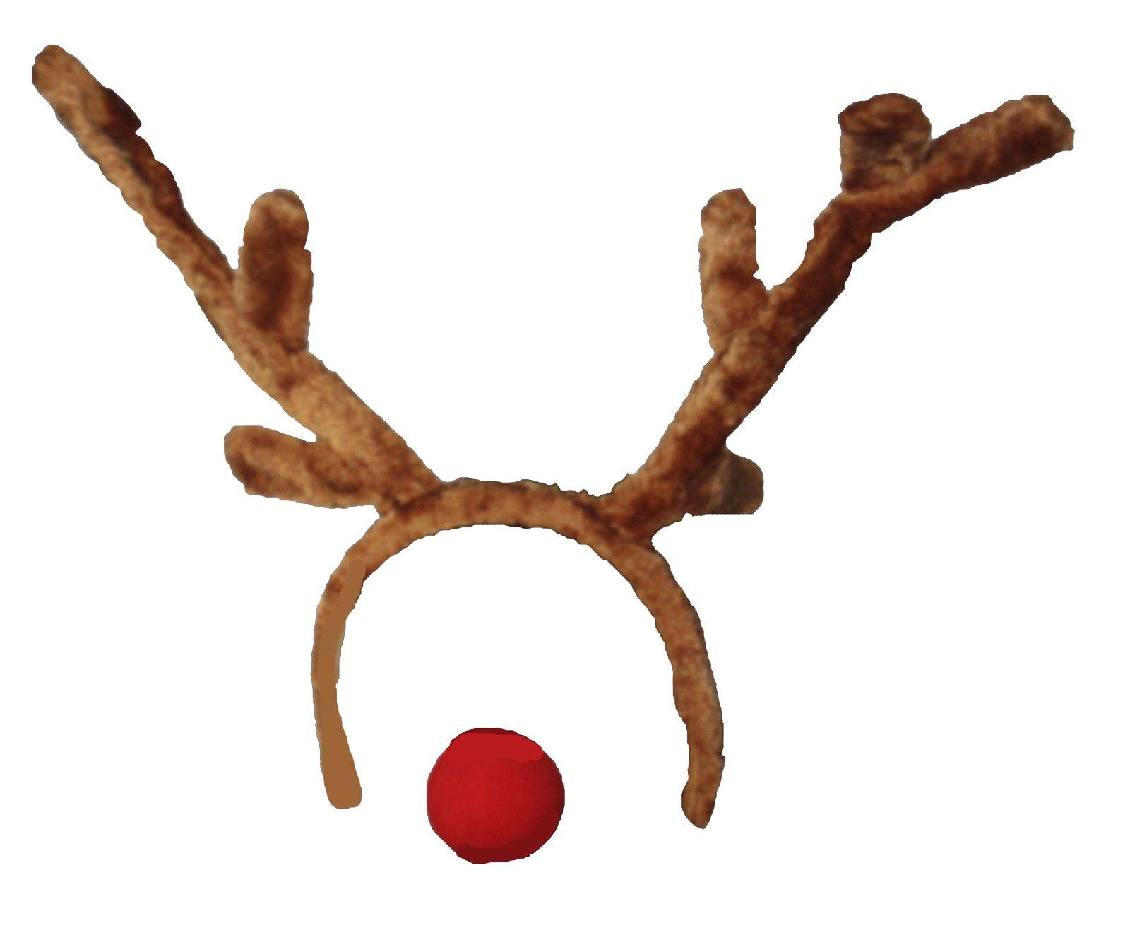 Adulti Natale Renna Animale Travestimento Costume Natale Corna & Naso Set-