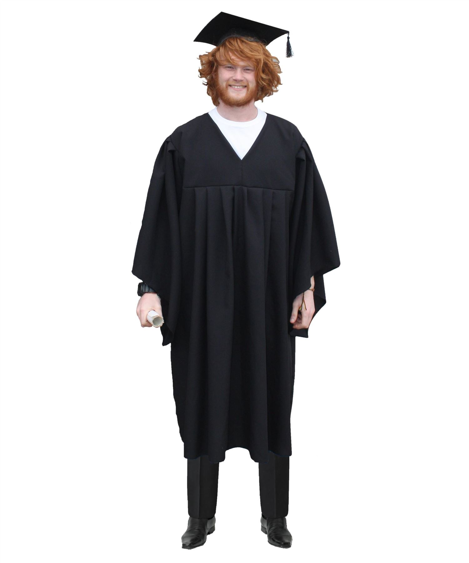 Adults Head Master Graduation Gown School Teacher Robes Fancy Dress ...