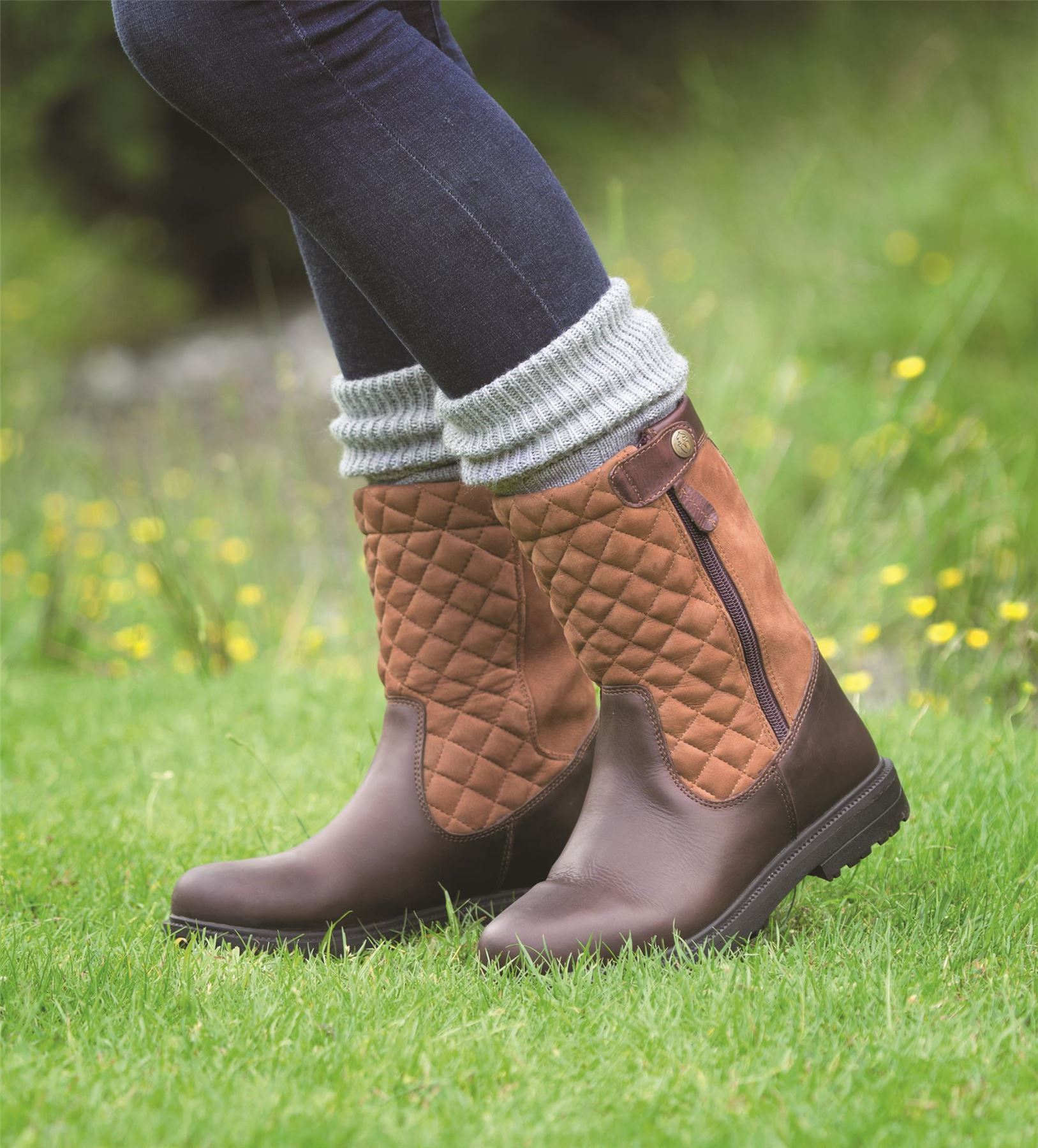 Shires Moretta Walking Vita Horse Riding Equine Country Walking Moretta Waterproof Short Stiefel d52ead
