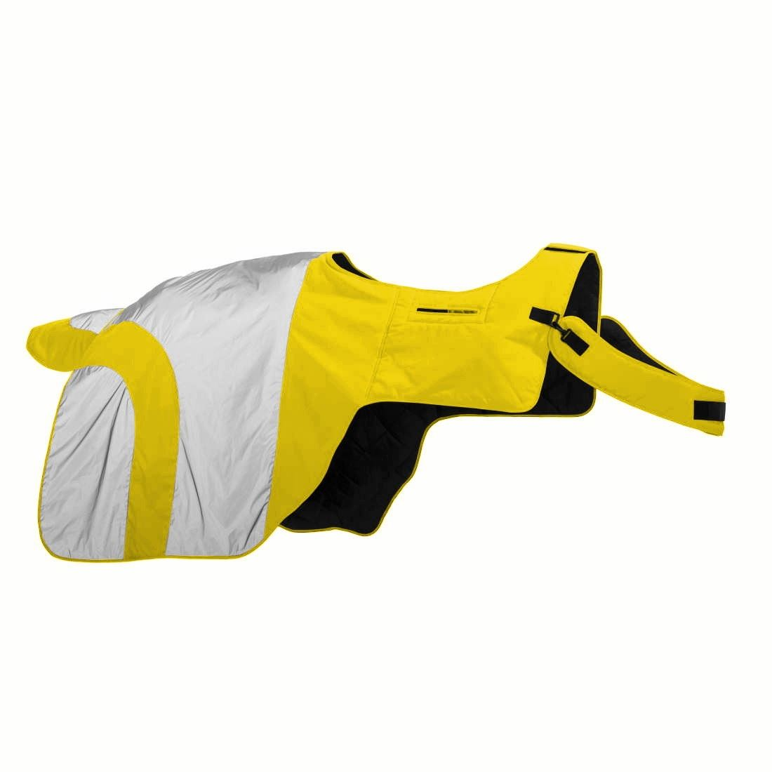 Equisafety Mercury Hi Viz Protective Horses Ride On Kidney Quater Kidney On Sheets Rugs 74da42