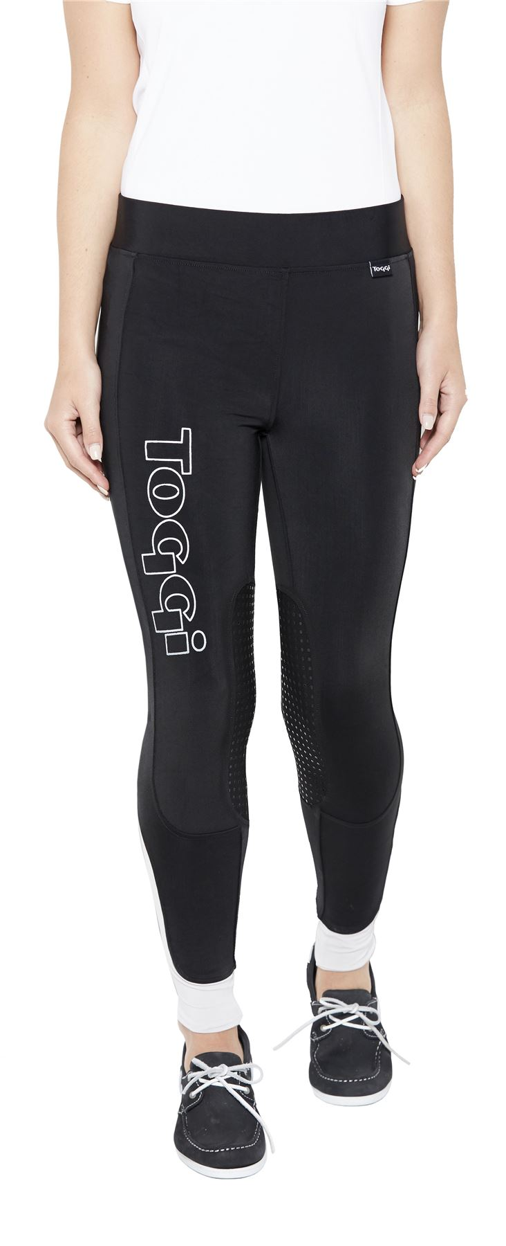 Toggi Oldenburg Ladies Horse Riding Print Equestrian Sporty Stylish Breeches