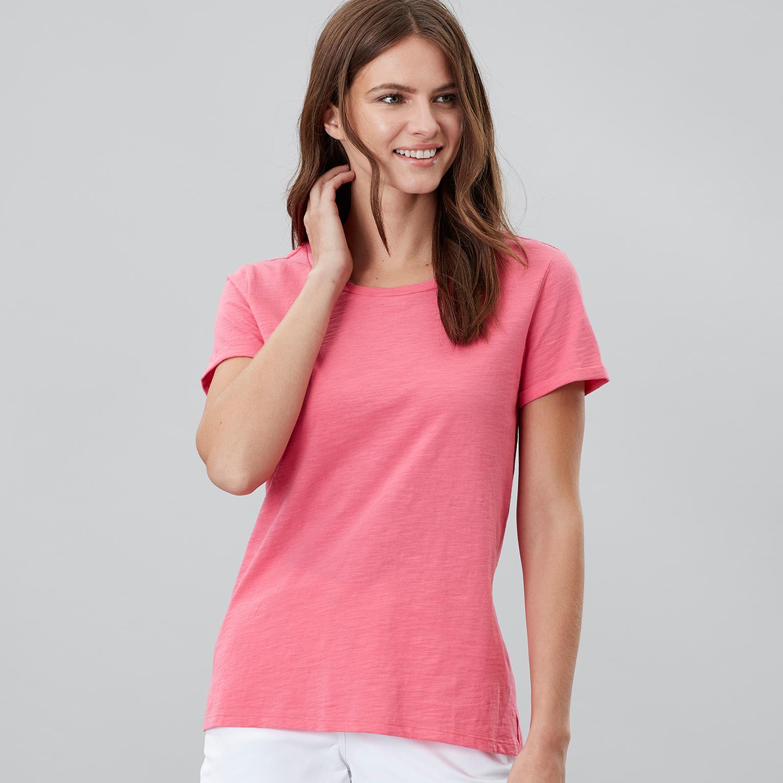 Joules-Nessa-Damas-Equitacion-Manga-corta-Jersey-Top-de-Moda-de-pais-Caminar miniatura 55