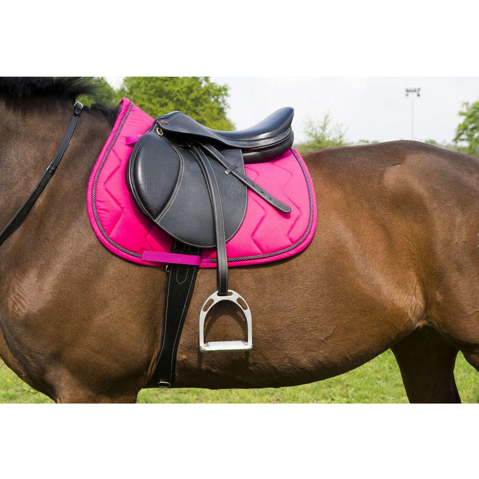 Equitheme GP Saddlecloth//Saddlepad with Rope Binding Pony//Full FREE DELIVERY