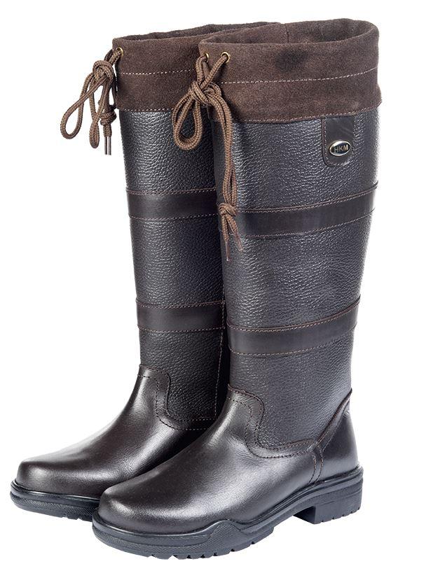 HKM Belmond Winter Insulated Faux Walking Fur Equestrian Country Walking Faux Outdoor Stiefel f85455