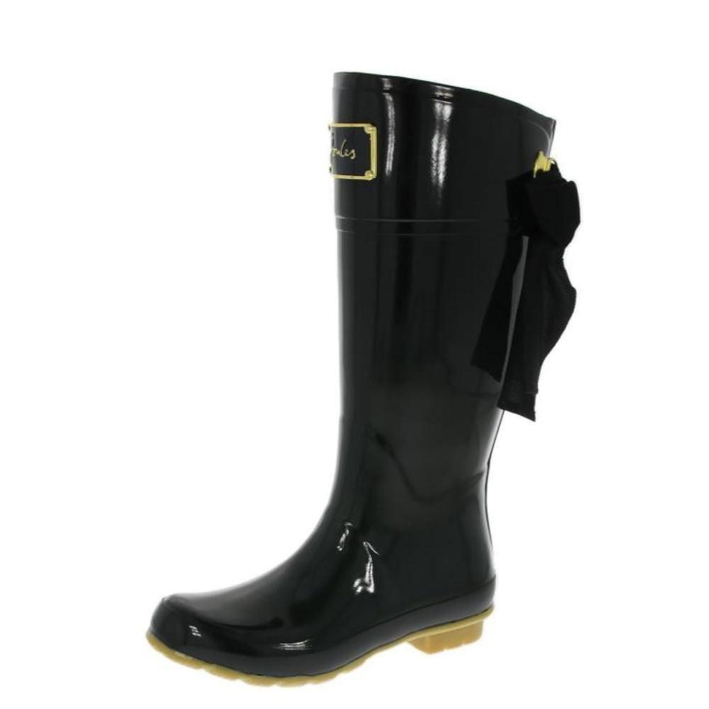 Joules-Evedon-Premium-Ladies-Waterproof-Mid-Calf-Short-Rubber-Wellington-Boots