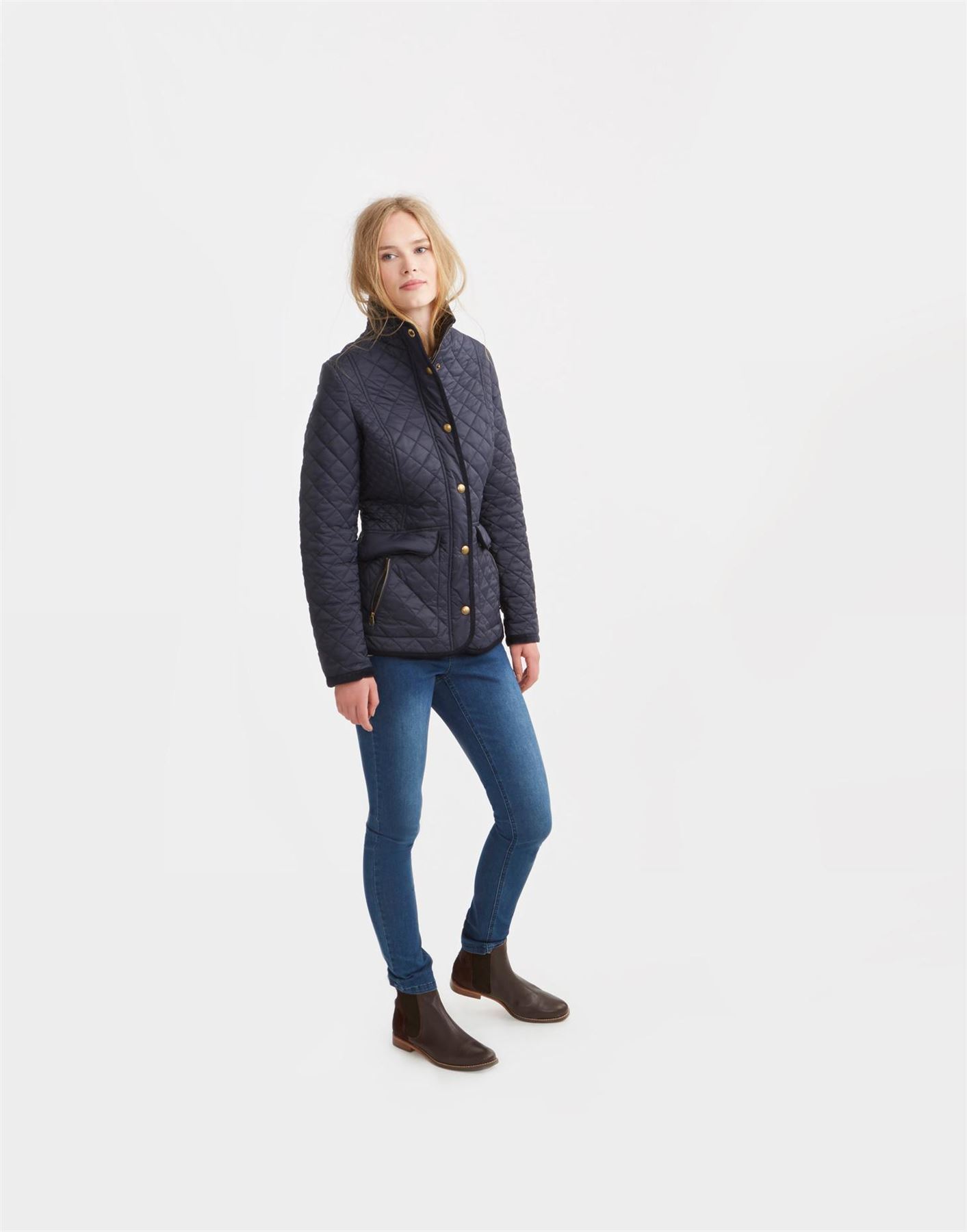 Joules Newdale Equestrian Womens Warm Country Fashion Classic ... : classic quilted jacket - Adamdwight.com