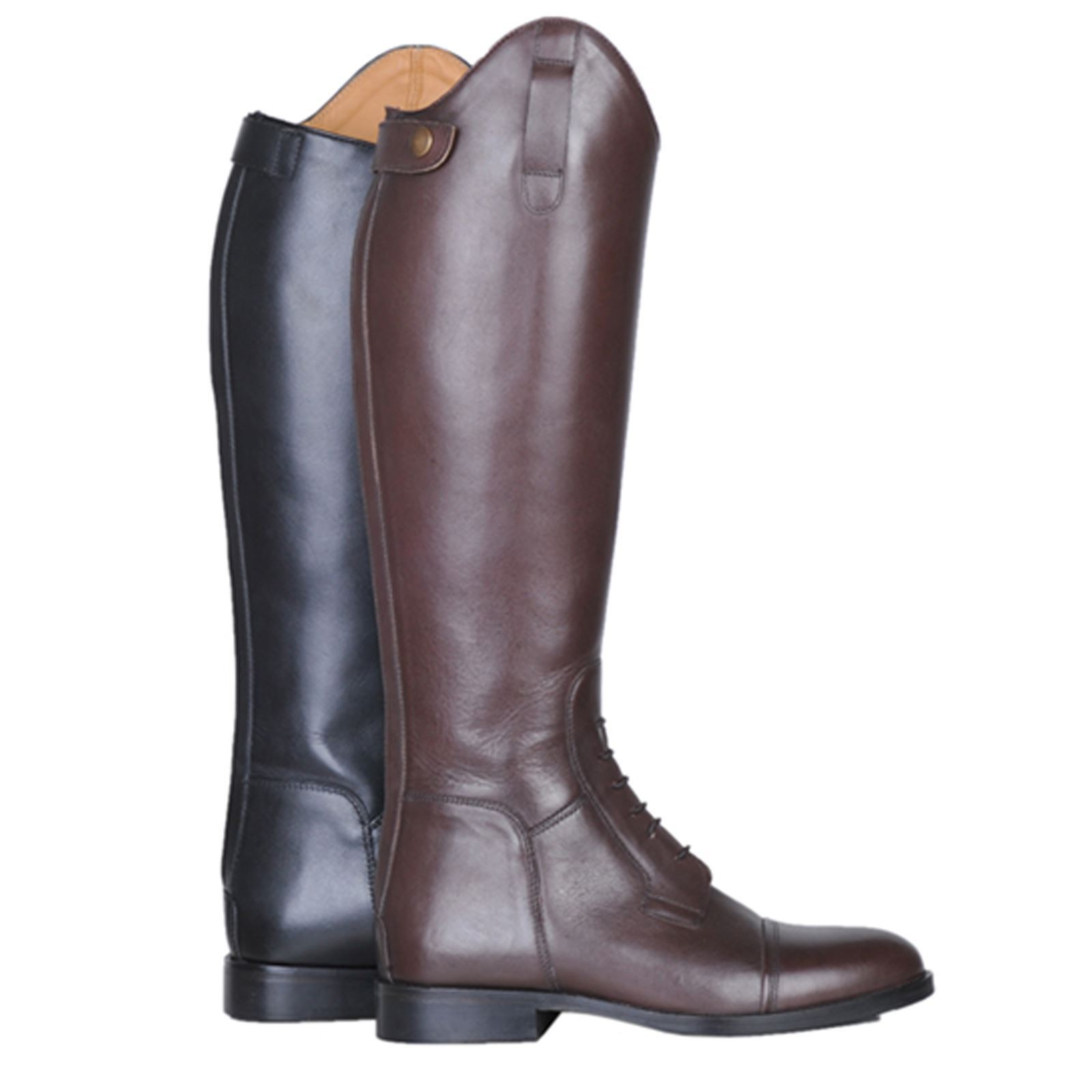 HKM Equestrian Adults Fit Spain Soft Leder Slim Fit Adults Narrow Long Horse Riding Stiefel 816fe3