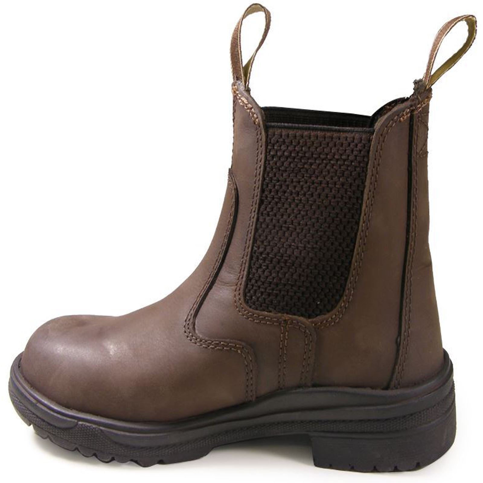 Joy-Rider-Steel-Toe-Ladies-Men-Horse-Riding-Equestrian-Show-Leather-Jodhpur-Boot thumbnail 6