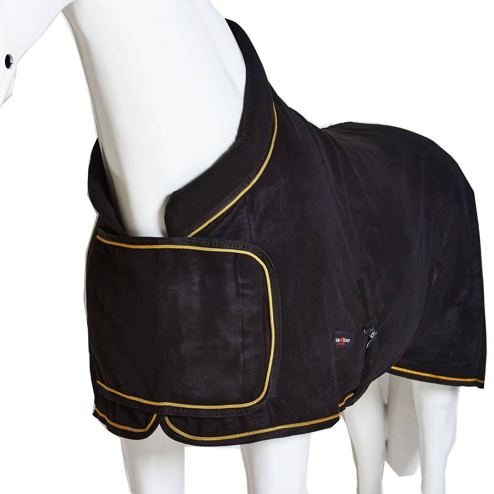 BOH Fleece Breathable Cooler Moisture Wicking Anti-Sweat Travel Show Stable Rug