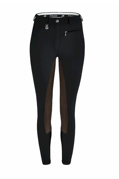 Pikeur Lugana Stretch Ladies Horse Riders  Summer Belt Loops Zipped Breeches  world famous sale online