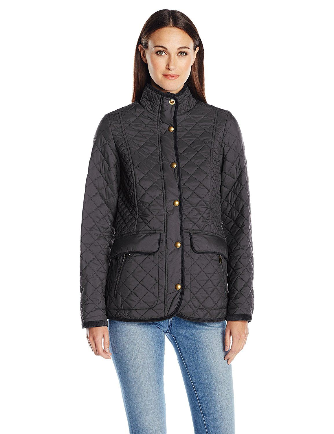 Joules Newdale Equestrian Womens Warm Country Fashion Classic Quilted Jacket NEW