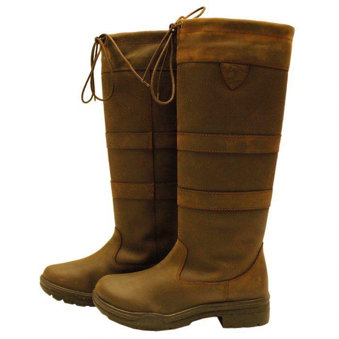 Horseware Ireland signore uomini Impermeabili Equitazione Outdoor Comfort Lungo paese Boot