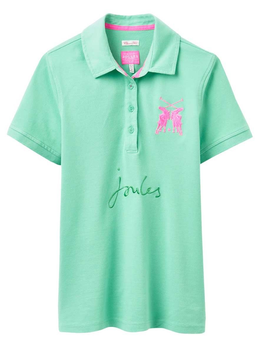 Joules beaufort ladies girls fashion showing competition for Polo shirt girl addiction