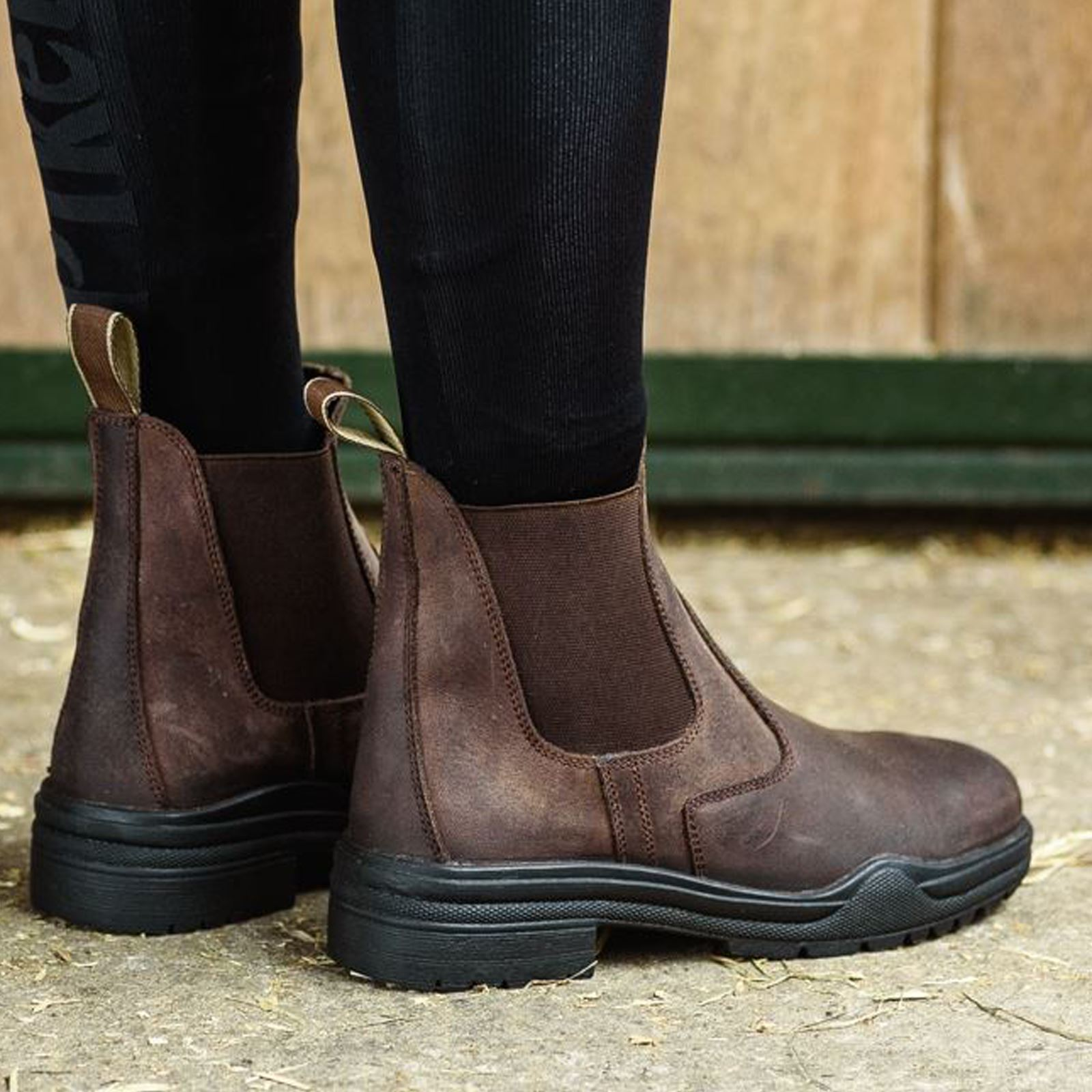 Joy-Rider-Steel-Toe-Ladies-Men-Horse-Riding-Equestrian-Show-Leather-Jodhpur-Boot thumbnail 7