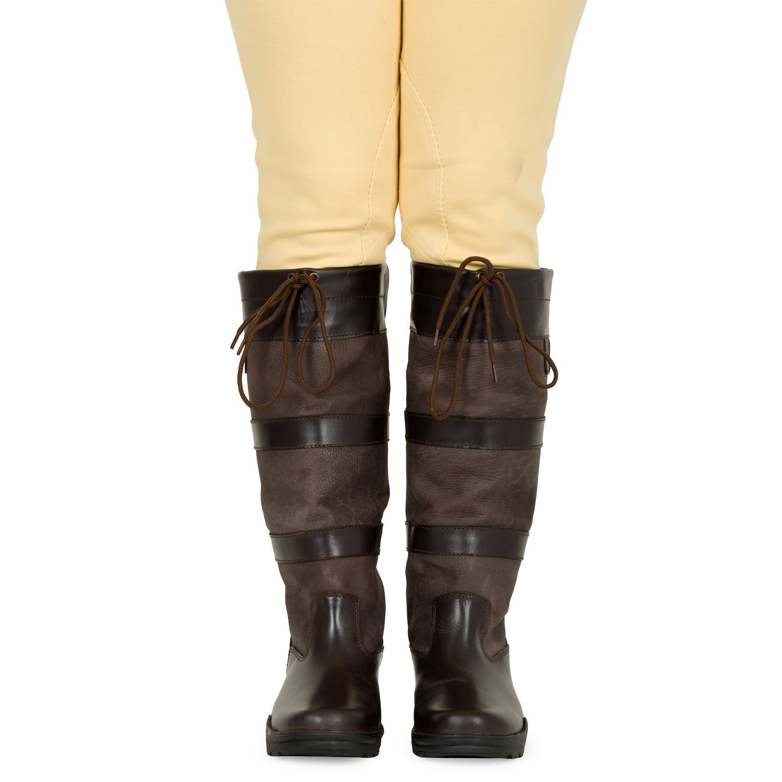 e176b3ab548 Details about Joy Rider Horse Riding Yard Stable Walking Water Resistant  Leather Country Boots