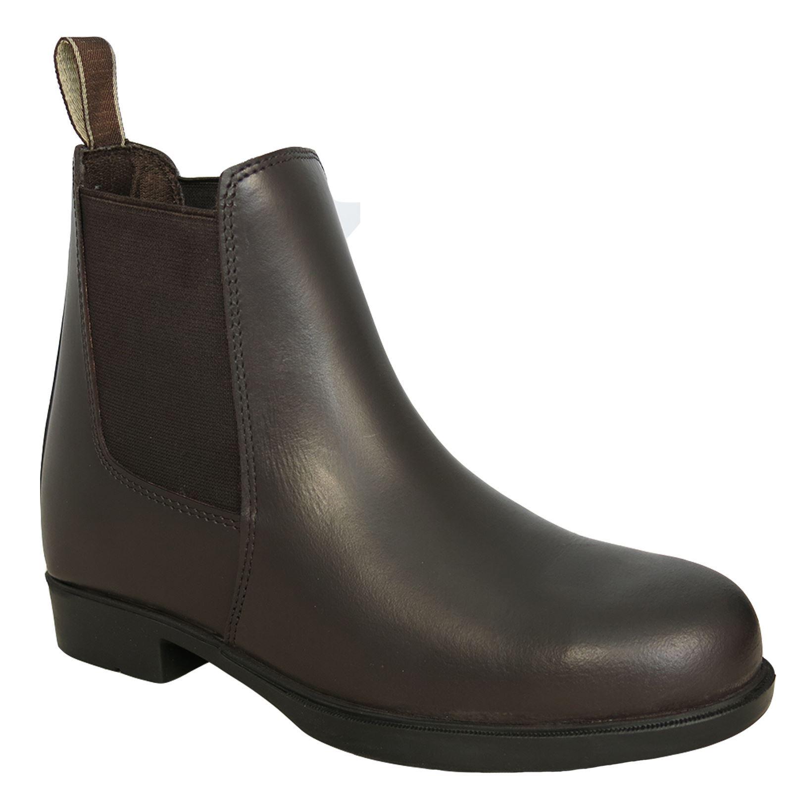 Horze Jodhpur Pull-On Boot with Steel Toe Horze Equestrian