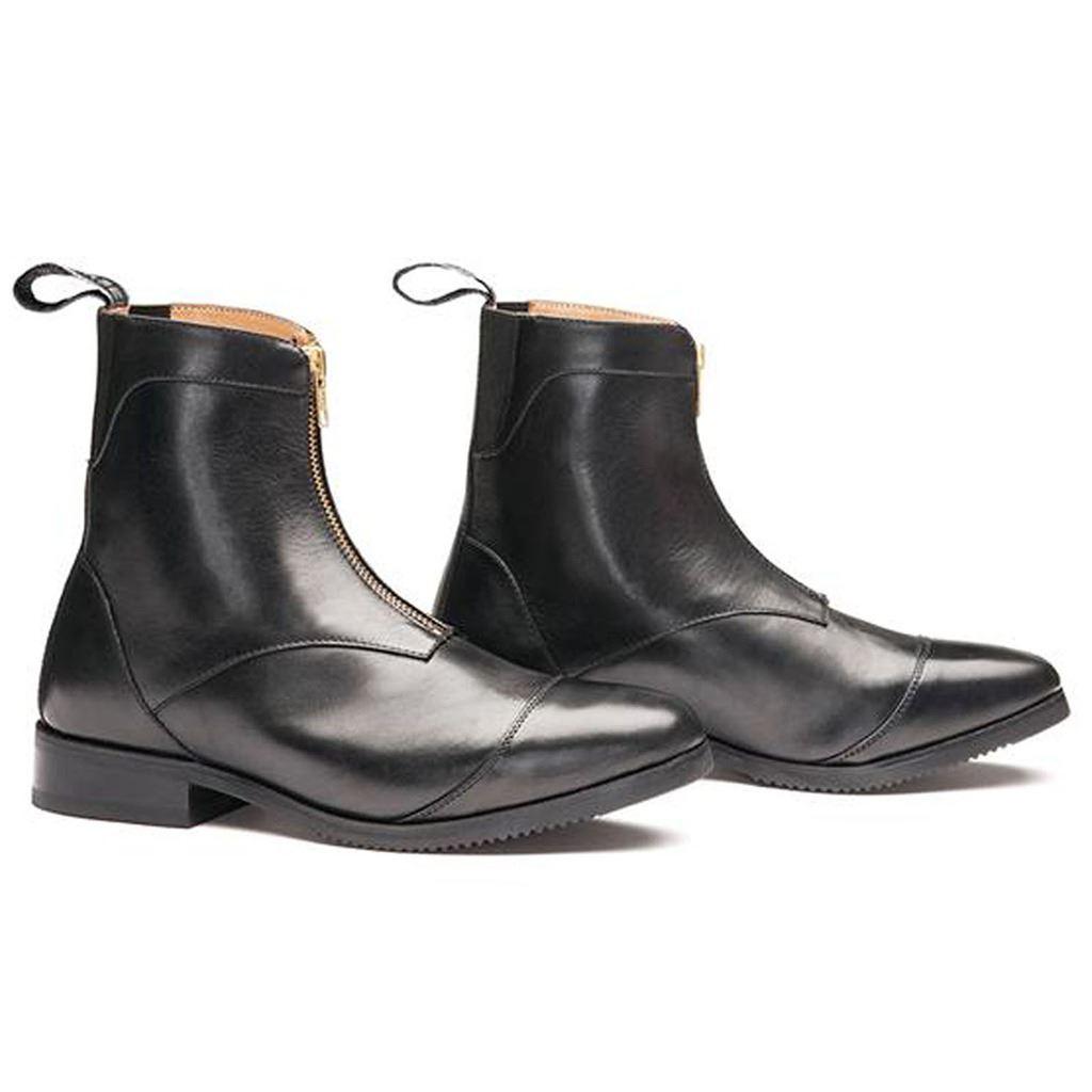 Mountain horse souverain premium shine en cuir cuir cuir doux confort équitation paddock bottes ba67b6