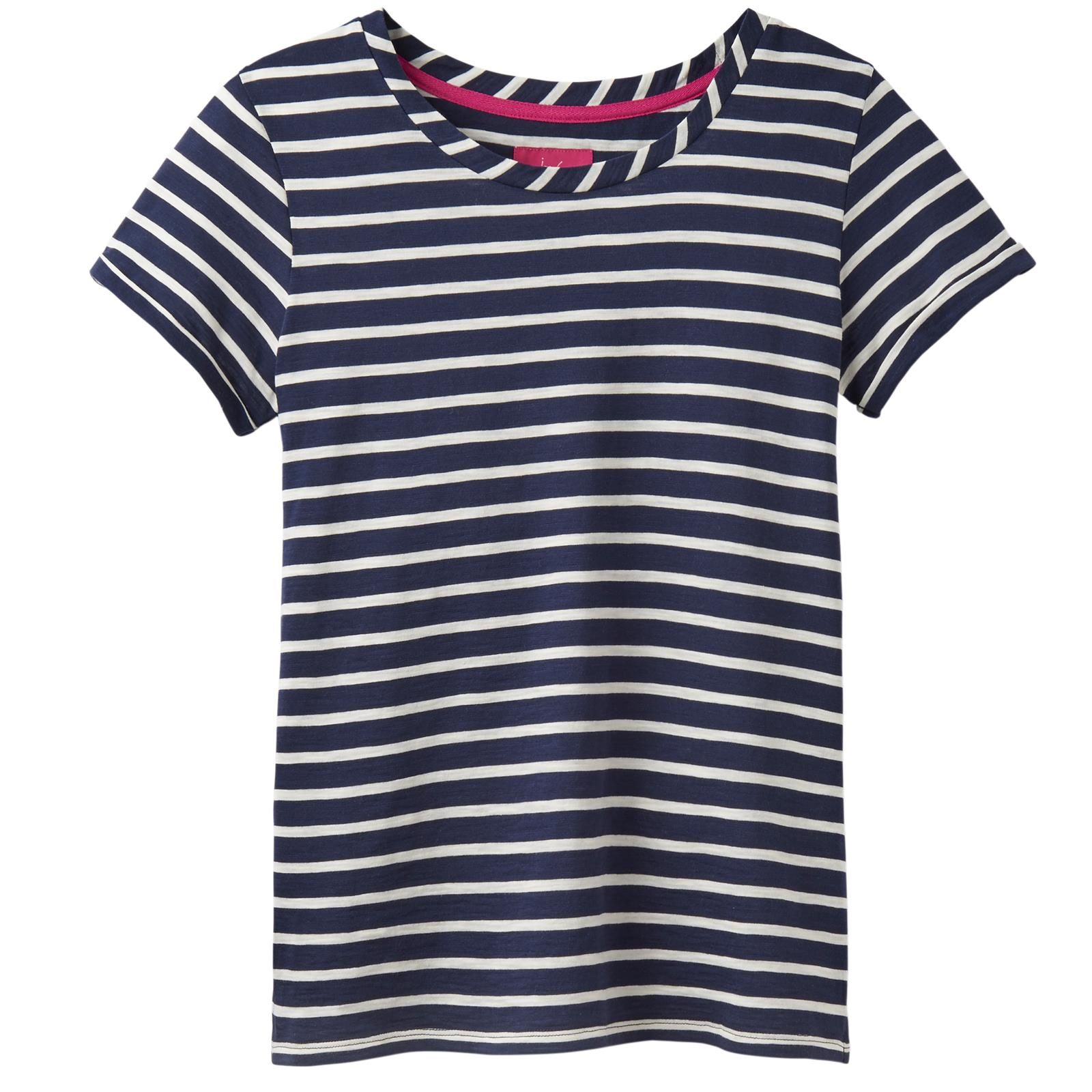 Joules-Nessa-Damas-Equitacion-Manga-corta-Jersey-Top-de-Moda-de-pais-Caminar miniatura 51