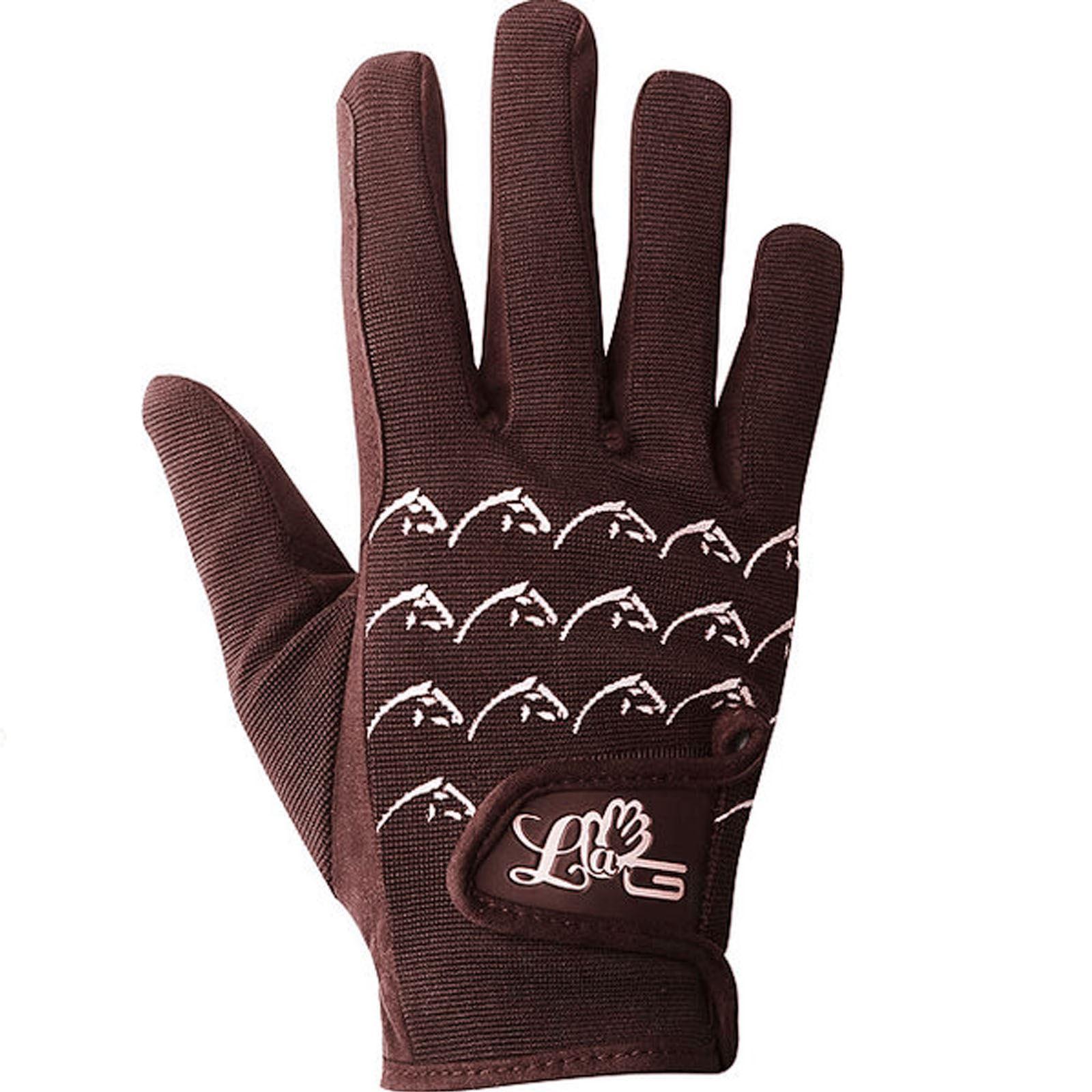 Black light gloves - Lag Nylon Clarino Amara Adult Gloves Black Light