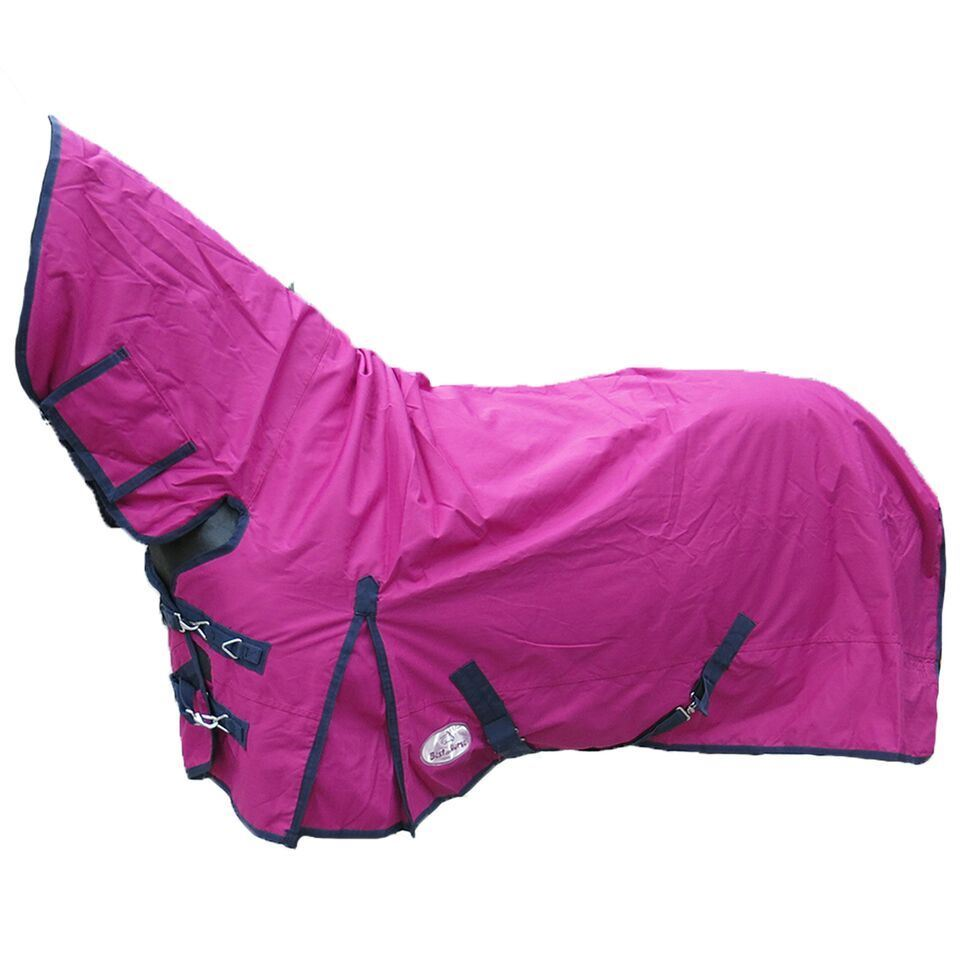 BOH-350g-Heavyweight-600D-Rip-Stop-Full-Fixed-Neck-Waterproof-Winter-Turnout-Rug thumbnail 39