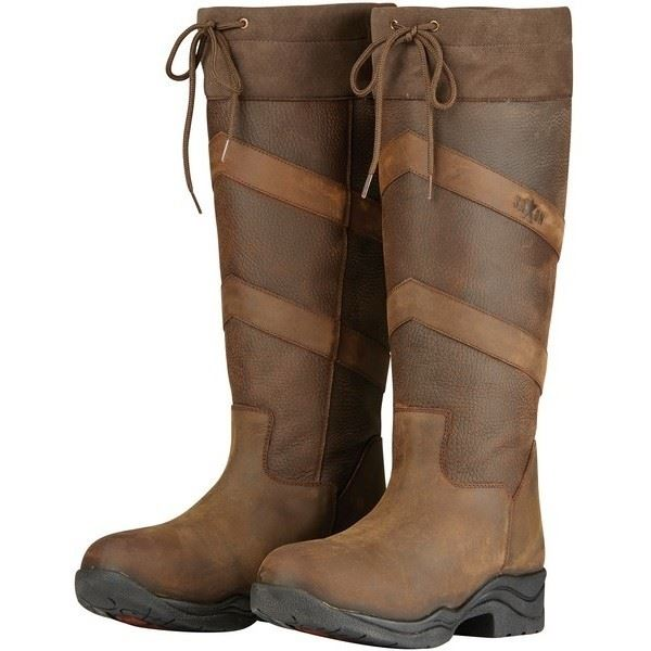 Saxon Pilton Womens Long Chevron Waterproof Breathable Country Walking New Boots