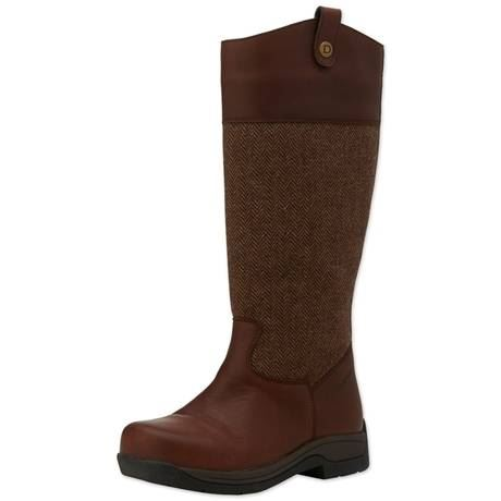 202a56b5aca Details about Dublin Womens Eden Waterproof Real Redskin Leather Breathable  New Country Boots