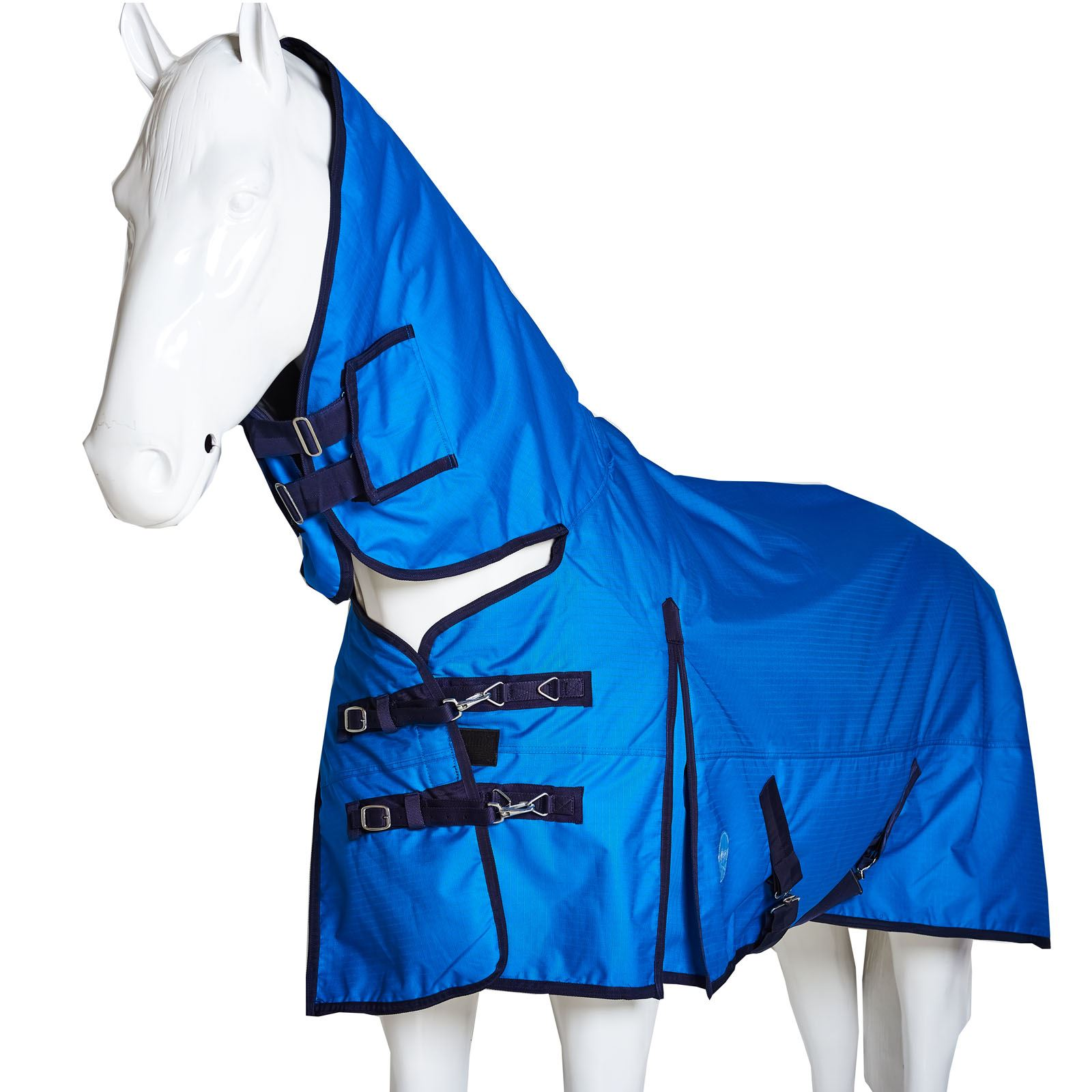 BOH-350g-Heavyweight-600D-Rip-Stop-Full-Fixed-Neck-Waterproof-Winter-Turnout-Rug thumbnail 10