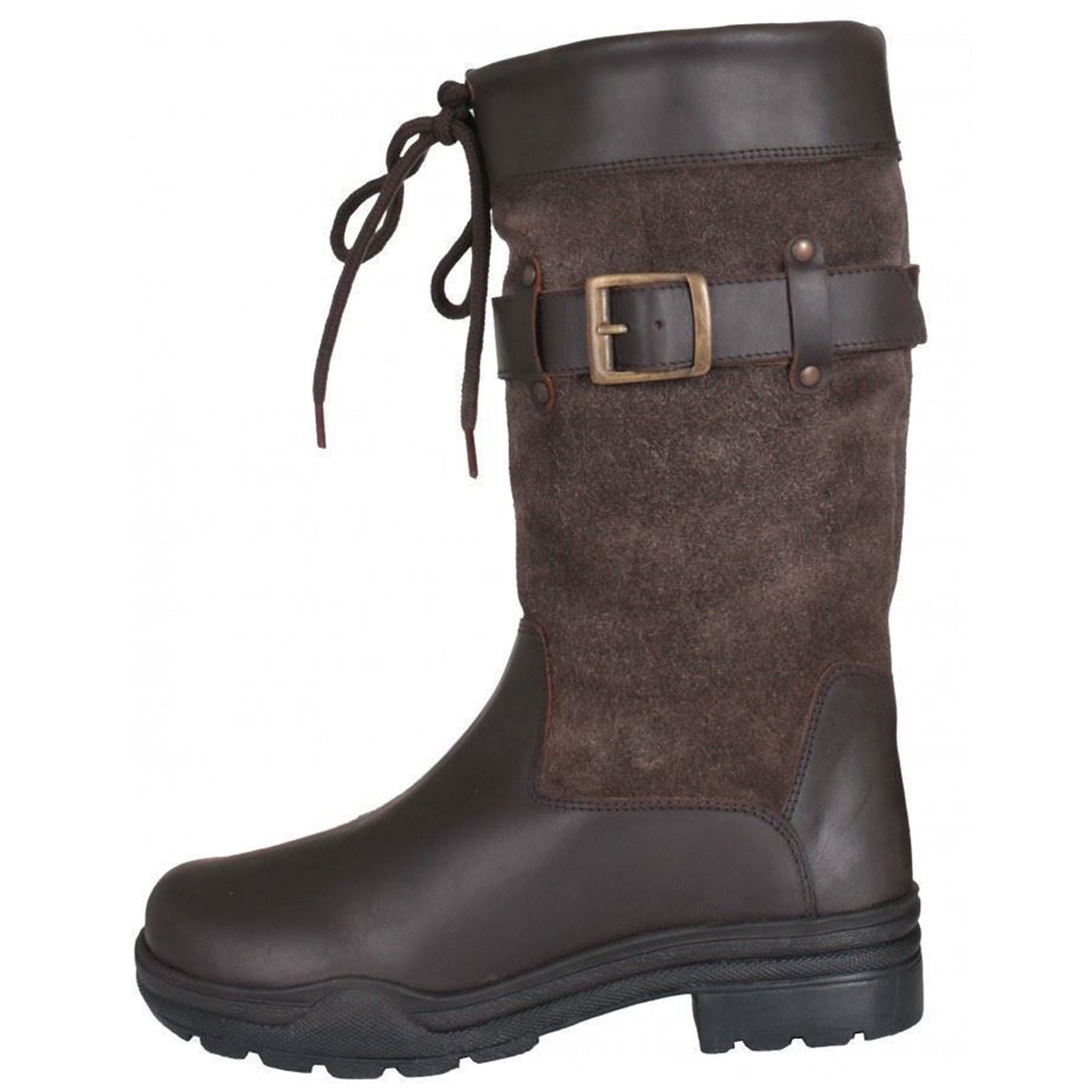 Horka Equestrian Unisex Hampton Leather With Short Side Strap Short With Outdoor Rider Boot 85b01f