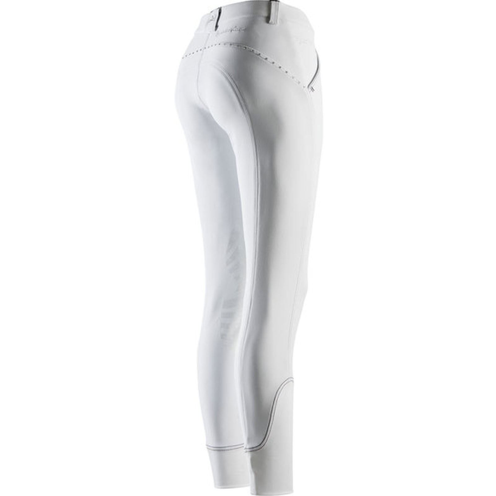 Dublin Thermal Gel Knee Patch Breeches Winter Warm Water Resistant Horse Riding