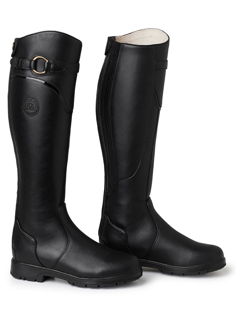 Mountain Horse Ladies Comfortable Spring River Waterproof Leather Riding Boots