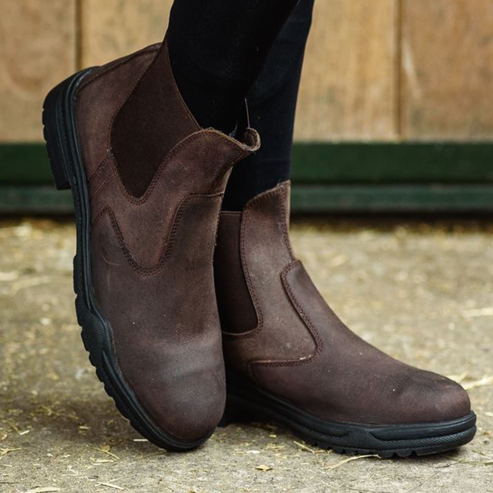 Joy-Rider-Steel-Toe-Ladies-Men-Horse-Riding-Equestrian-Show-Leather-Jodhpur-Boot thumbnail 8