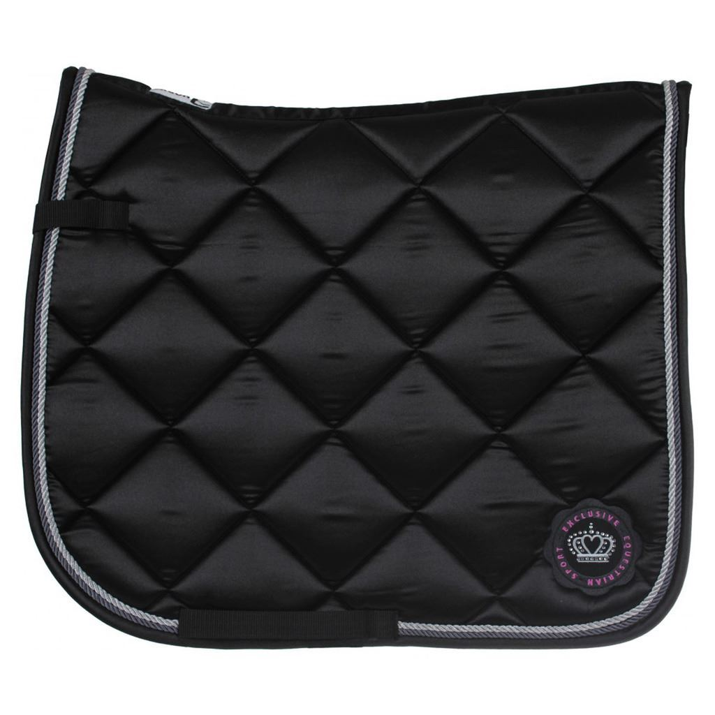 Horka Glamour Dr With Honey Cumb Lining Lining Lining & Strass Stones Show Jumping Saddle Pad adf149