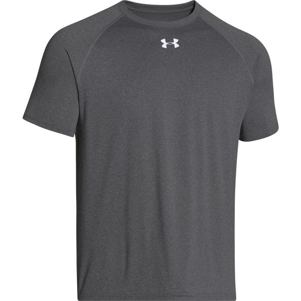 Under armour men 39 s locker short sleeve t shirt ebay for Under armour t shirts