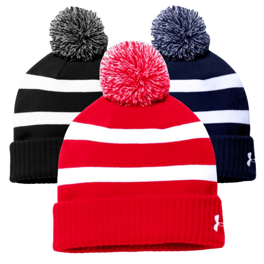 ba05eeeeafa Under-Armour-Men-039-s-Pom-Beanie thumbnail 1