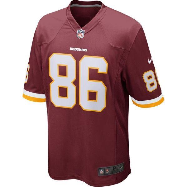 c368c7d99 ... Washington Redskins Jersey Jordan Reed  86 Nike Men s Game Replica NFL  Burgundy