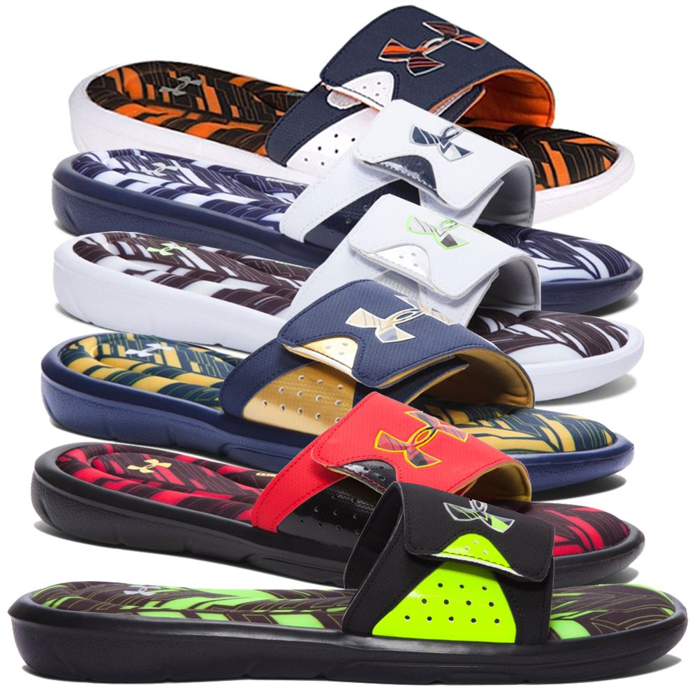7e122447 Under Armour Slide Sandals for Men for sale | eBay