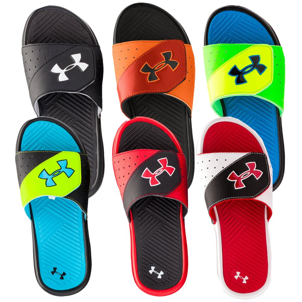 High-grade,Online Shop Under Armour Kids Under Armour Kids Boys Sandals AVx69EA8 Item InformationView the size chartWhen his play or sport is done, have him slip on the superior comfort UA Ignite IV SL sandals to relax desiredcameras.tk brand is a member of the Sustainable Apparel desiredcameras.tkable strap with HeatGear® fabric lining to keep you cool and dry.