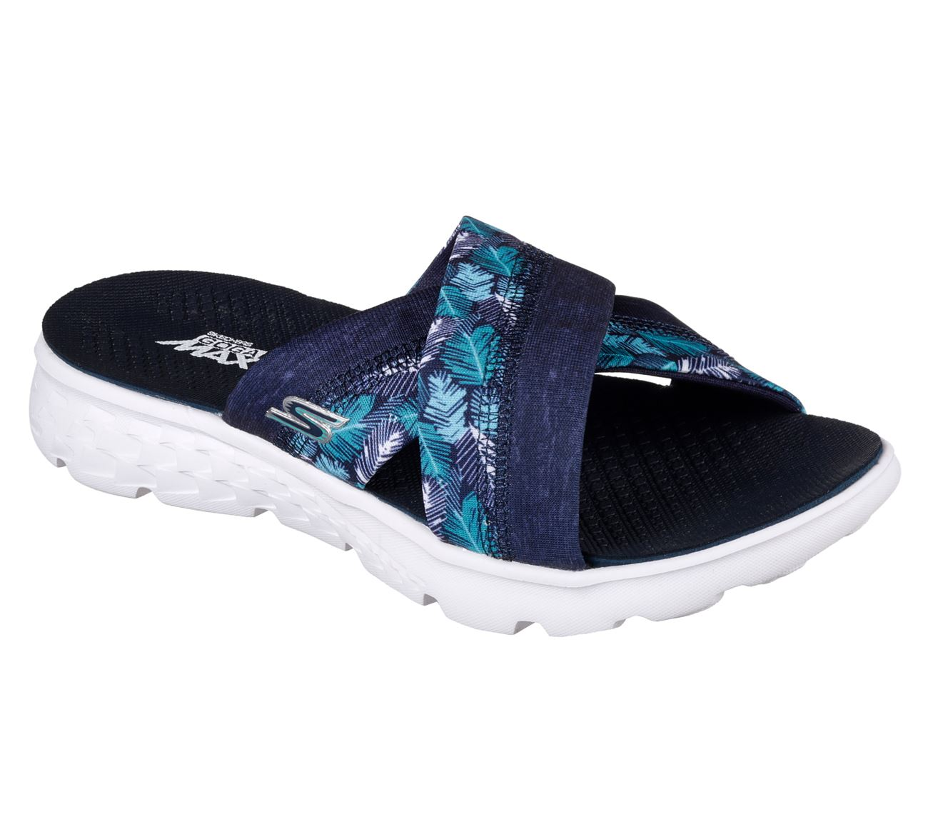 skechers performance women 39 s on the go 400 tropical sandal ebay. Black Bedroom Furniture Sets. Home Design Ideas