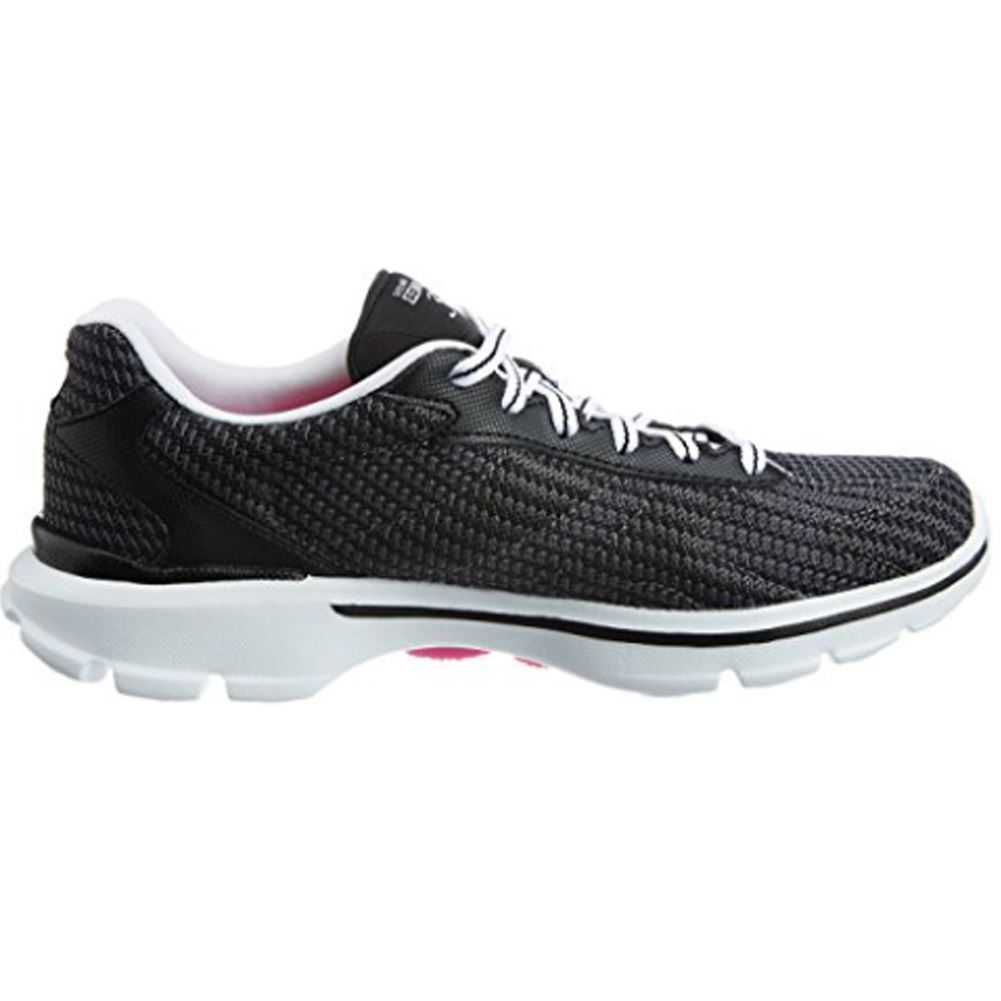 skechers black walking shoes. skechers-performance-women-039-s-go-walk-3- skechers black walking shoes
