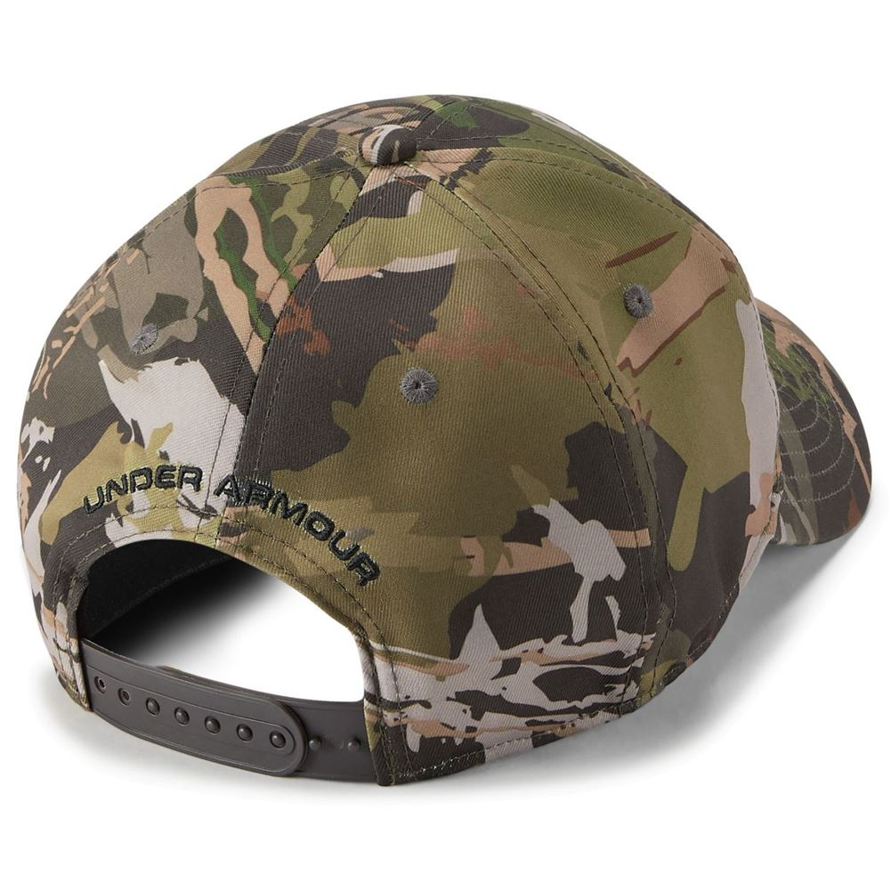 19c175f975e Under Armour Men s Camo Big Flag Logo Cap