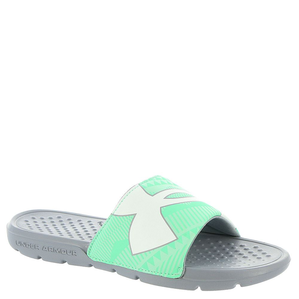 Under Armour Womens Ua Strike Geo Slide Sandals  Ebay-7659