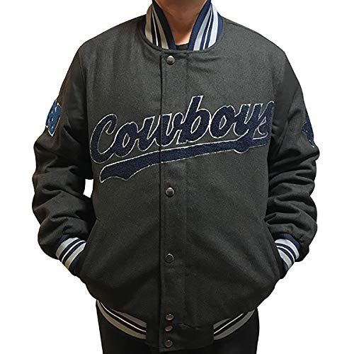 Dallas Cowboys Game Ball Men s NFL Varsity Jacket G-III  0b73a7b2e