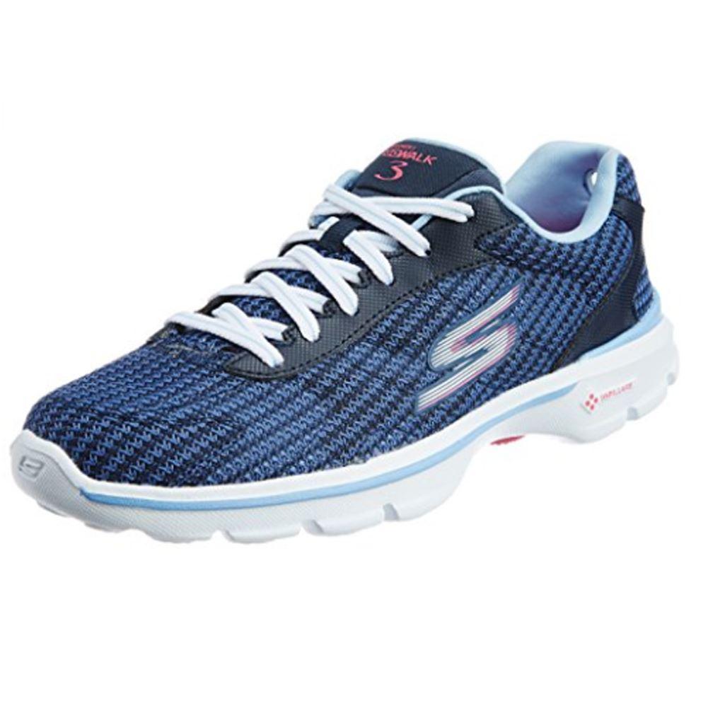 Skechers Performance Women S Go Walk 3 Fit Knit Walking Shoe