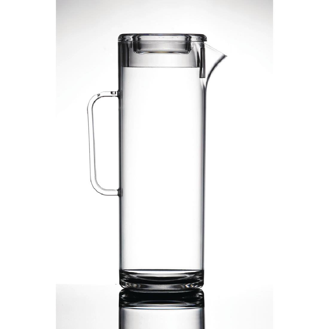 BBP Jugs with Tall and Slender Profile Made of Polycarbonate 1.7 L Pack of 4